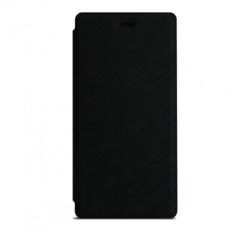 Flip cover black X1 Soul