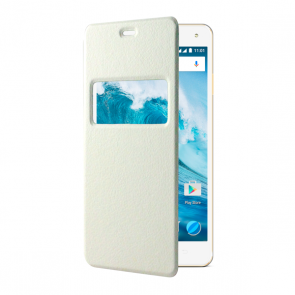 E4/E4 Lite flip cover white