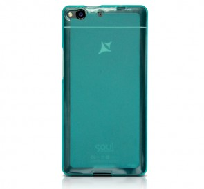 Protective silicone blue Cover X1 Soul