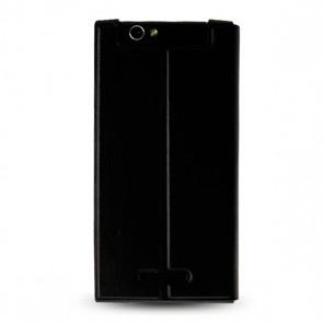 Flip cover  P7 Xtreme black
