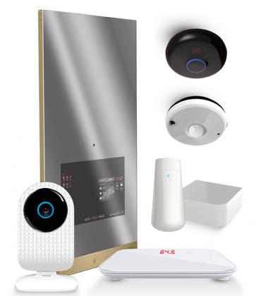 Pachet Smart Mirror 2 + Smart Cam + Cantar + Tester piele + Senzor multifunctional + Transmitator IR + Comutator