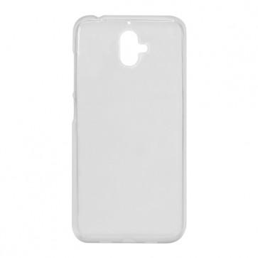 Capac protectie silicon alb semitransparent X4 Soul