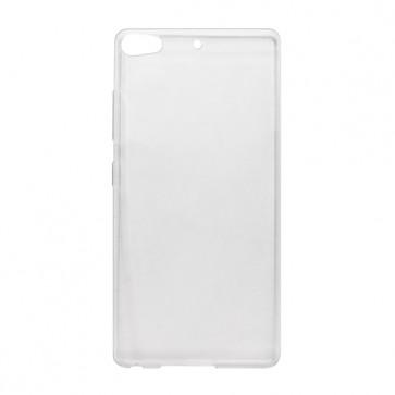 Capac protectie silicon alb semitransparent X2 Soul PRO