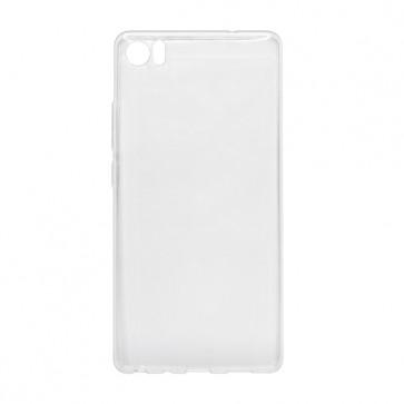 Capac protectie silicon alb semitransparent X3 Soul PRO