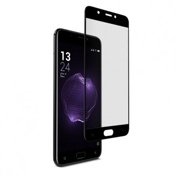 Folie sticla neagra protectie touchscreen X4 Soul