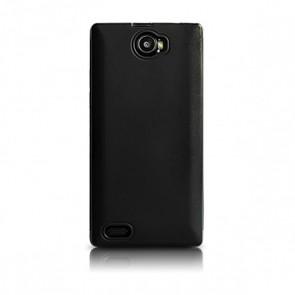 Capac protectie silicon negru H2 Qubo