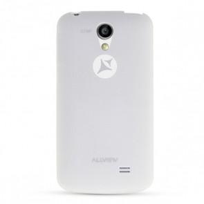 A5 Smiley capac silicon alb
